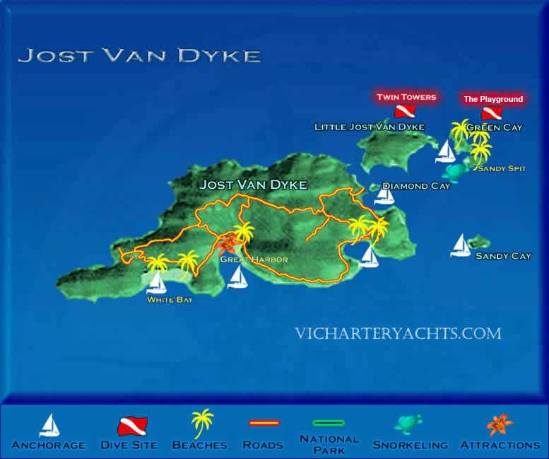 Best places to snorkel around Tortola - Vacation Tortola