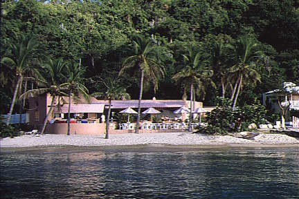 Manchioneel Bay Beach Cooper Island BVI