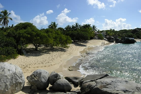 Spring Bay Beach Virgin Gorda BVI