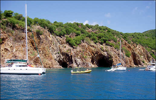 The Caves Beach Norman Island BVI
